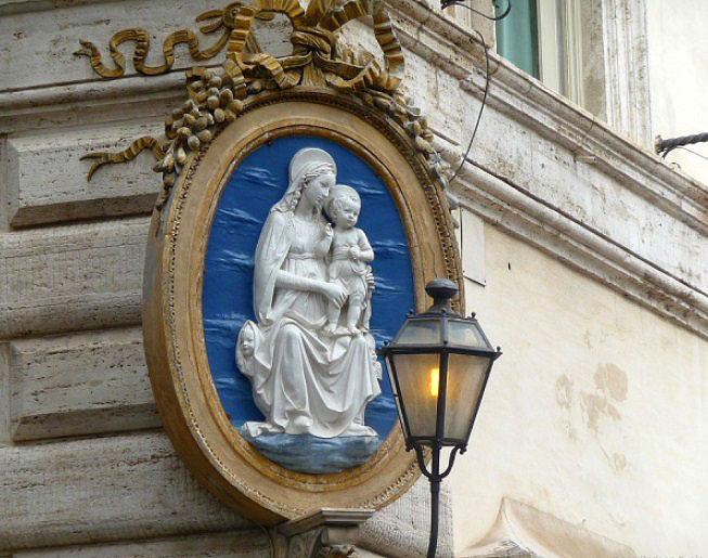 Римская Мадонна, madonnela