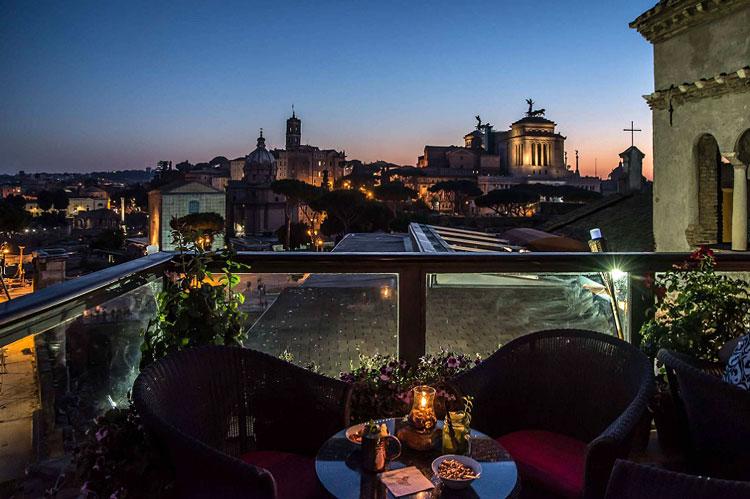 панорамный ресторан рим