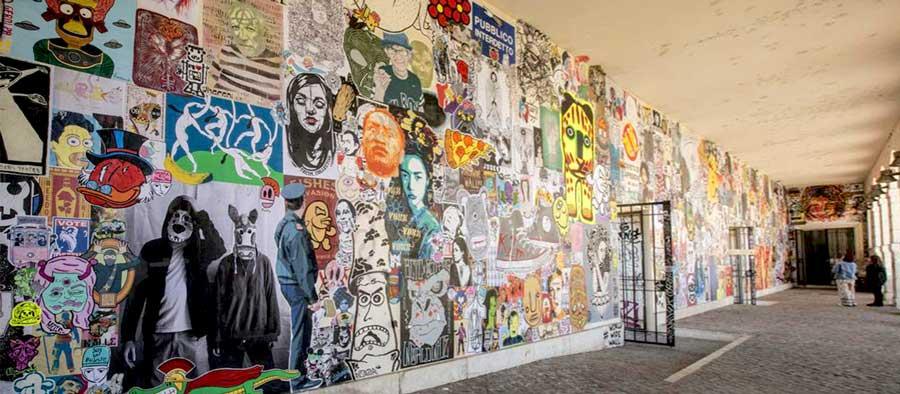 Worldwide Wall Рим постеры стрит арт