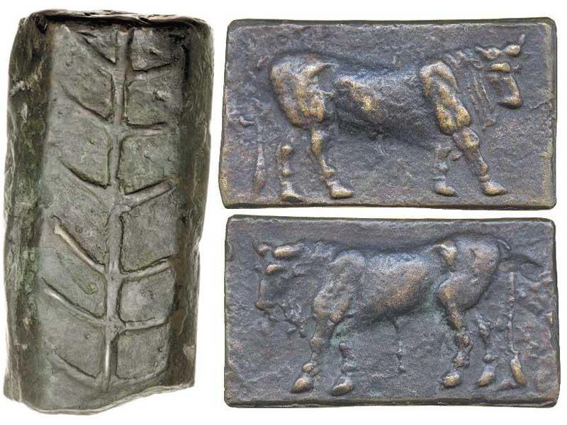 Aes signatum бронзовые слитки древнего Рима