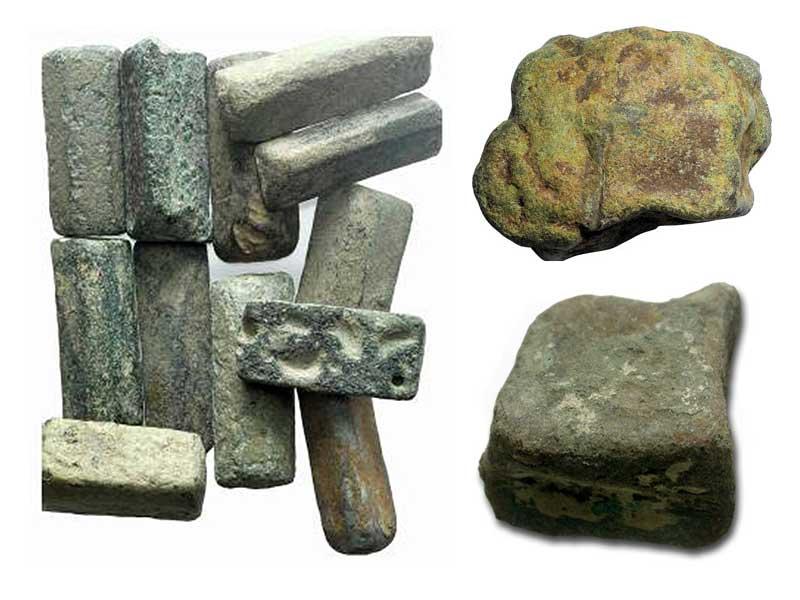 коммерческая бронза древнего Рима Aes Rude