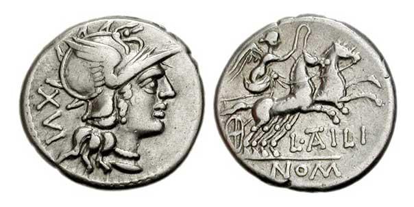 римские монеты денарий
