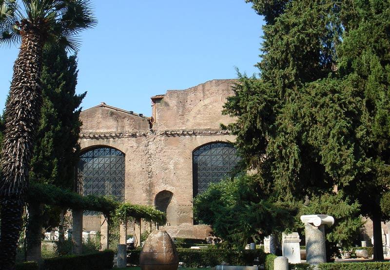 римские Термы Диоклетиана