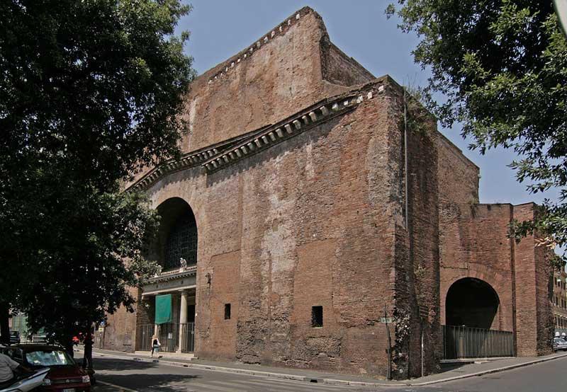 римские термы диоклетиана руины