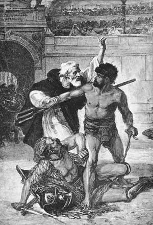запрет гладиаторских боев