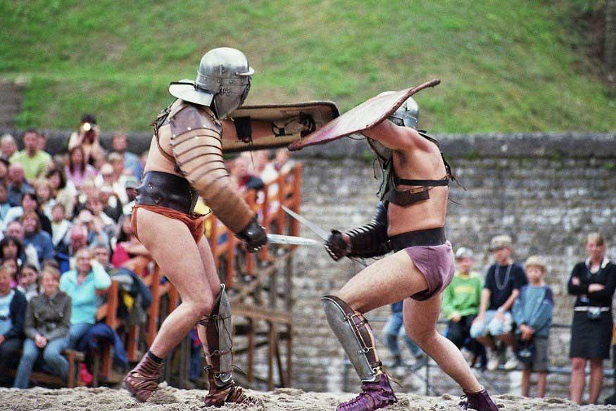 Современные гладиаторы
