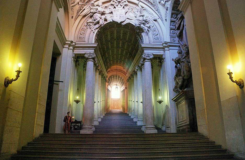 вход в Ватикан, Ватикан