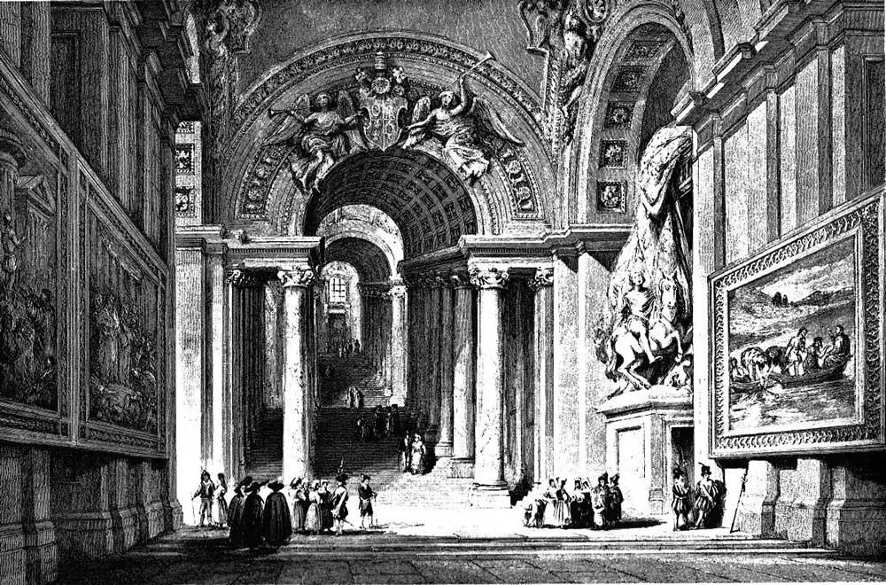 Лестница Бернини, Ватикан
