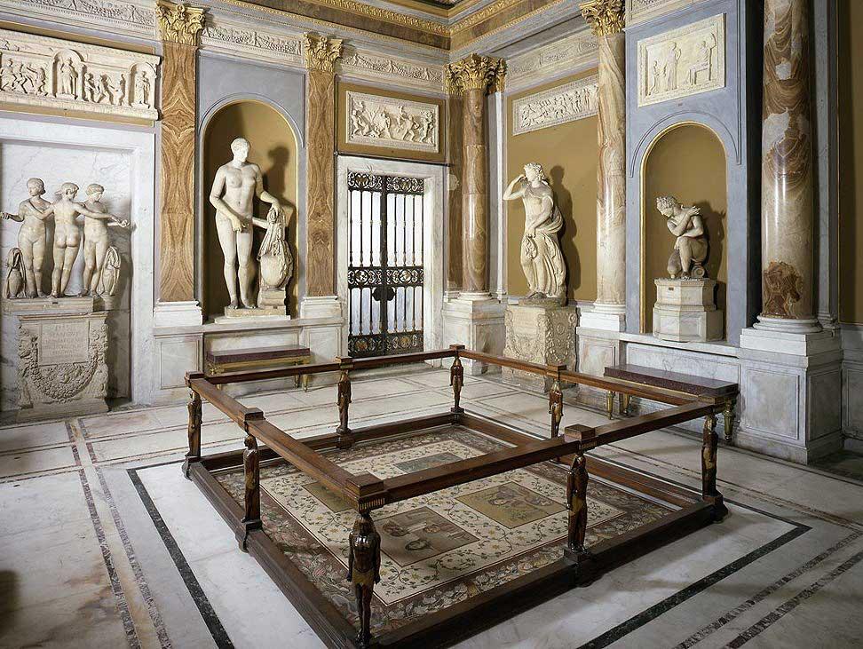 Зал масок, Ватикан