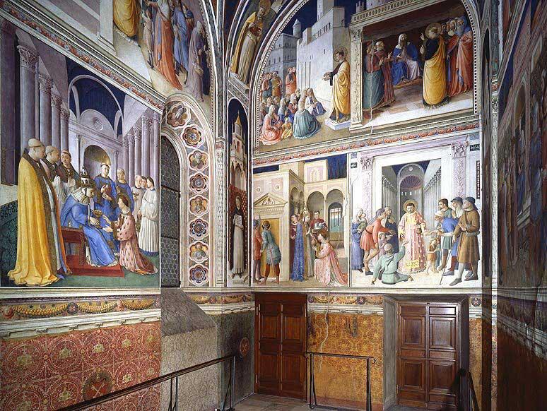 Капелла Никколина, Ватикан