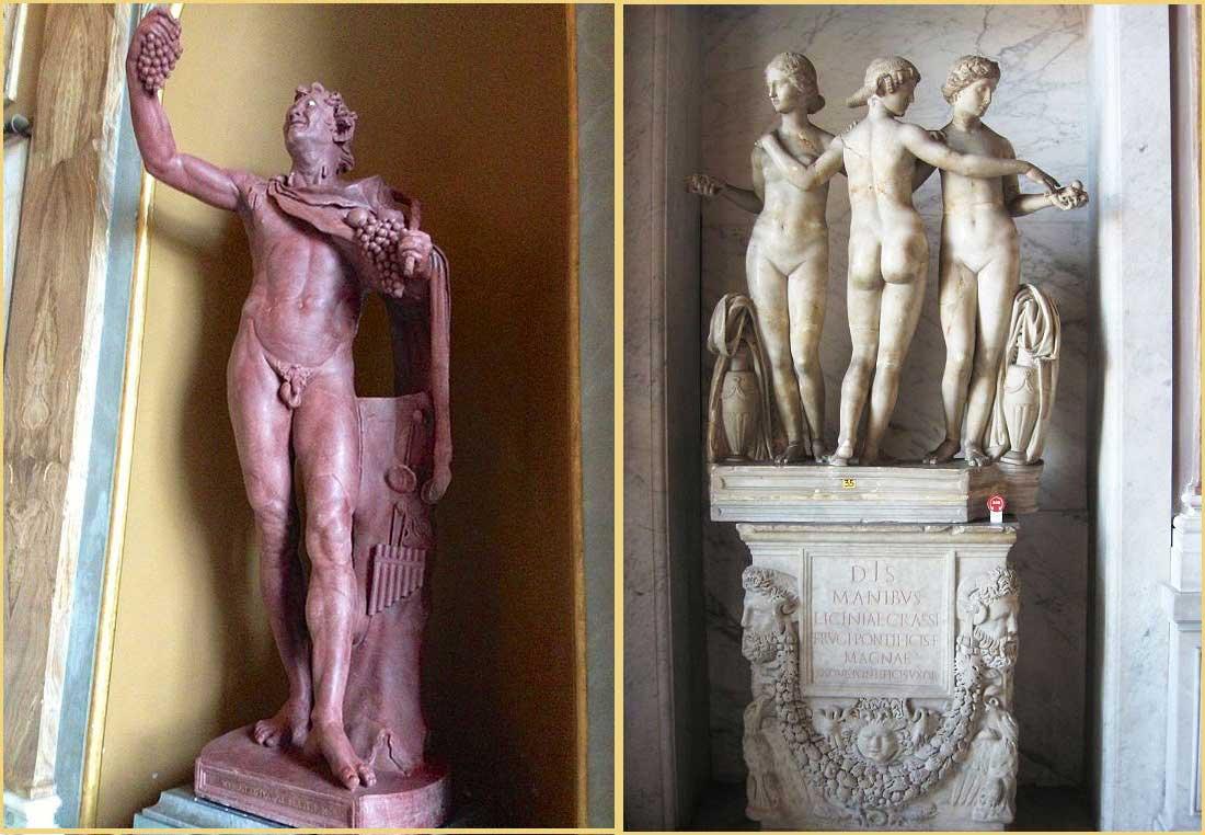 Ватикан скульптуры