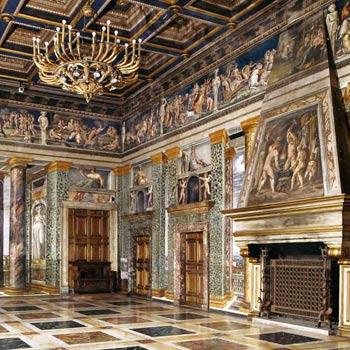 Вилла Фарнезина в Риме - шедевр Эпохи Возрождения