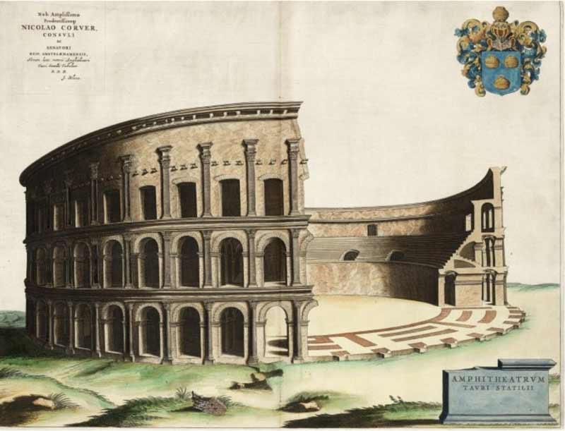 первый римский амфитеатр
