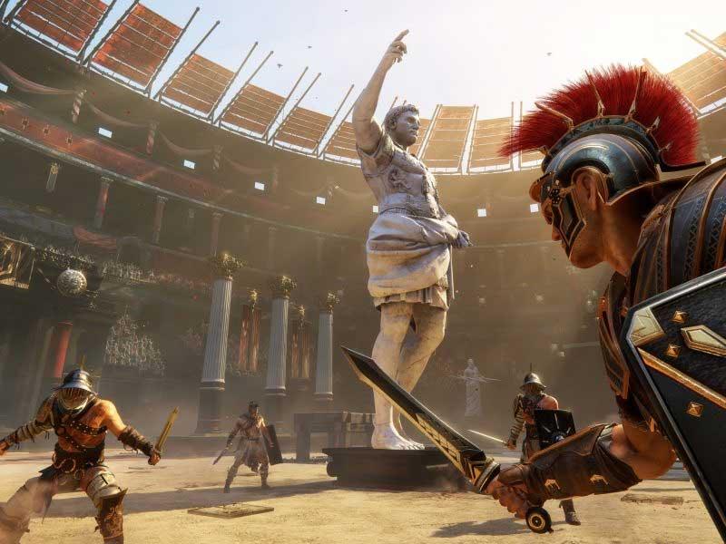 римский амфитеатр гладиаторские игры