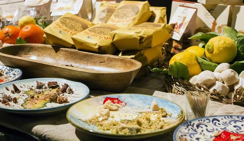 традиционные крестьянские блюда на сегре в Италии