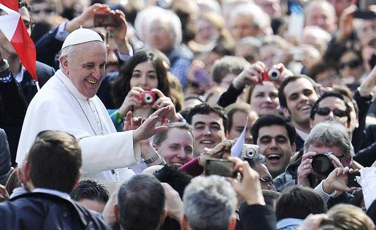 папа римский, папа Франциск,