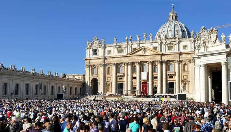 Католическая Пасха Рим