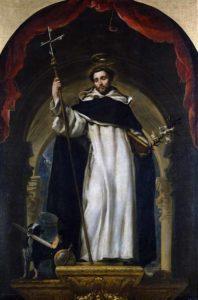 Святой Доменик легенда