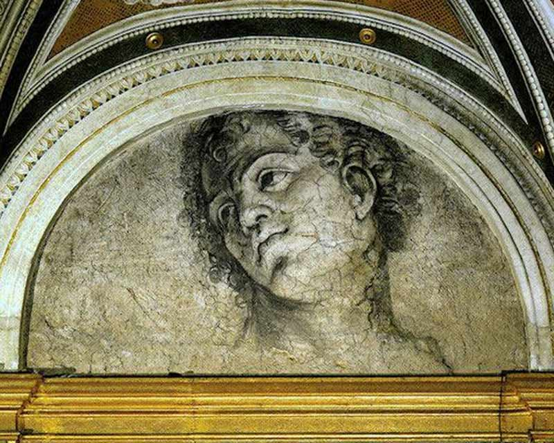 вилла фарнезина , микеланджело фреска