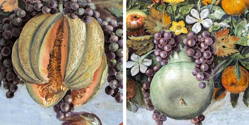 Вилла Фарнезина , рафаэль фрески, лоджия амура и психеи