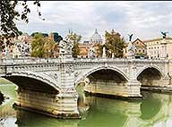 Мост Виктора Эммануила II в Риме