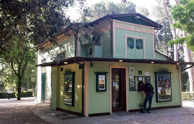 детский кинотеатр в риме