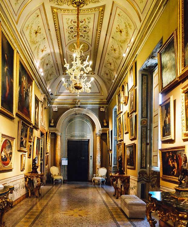 Галерея Корсини интерьеры палаццо