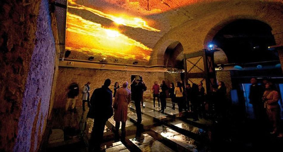 подземный рим, Домус Романе, Палаццо Валентини