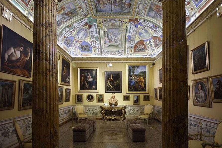 Палаццо Корсини в Риме интерьер