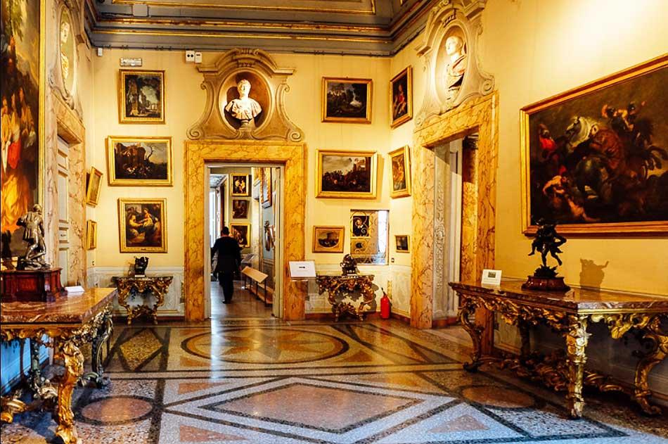 Коллекции Палаццо Корсини Рим