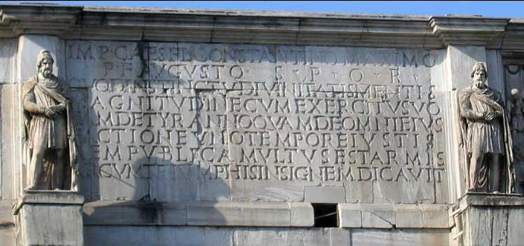 арка константина рим, триумфальная арка конмтантина