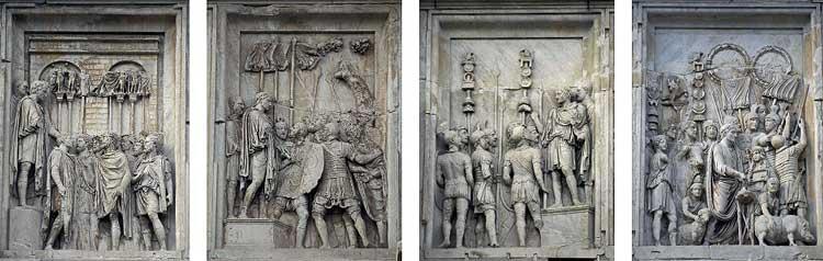 Арка Константина в Риме - история и описание
