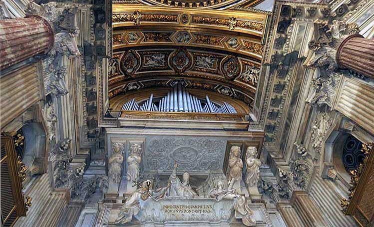 церковь святой агнессы, сант аньезе ин агоне