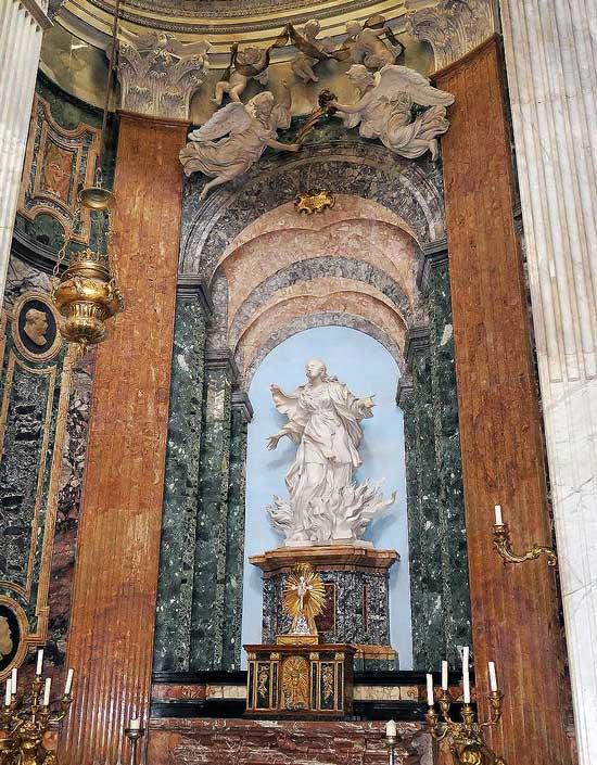 святая агнесса, церковь святой агнессы, сант аньезе ин агоне