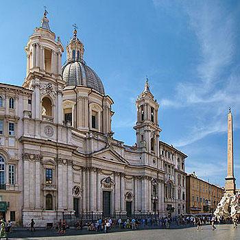 Церковь Святой Агнессы на Пьяцца Навона