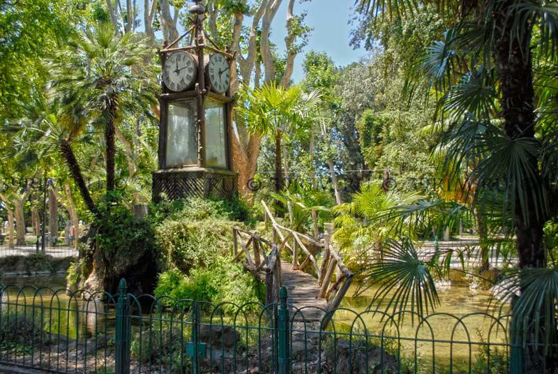 парк пинчо рим часы с водным механизмом