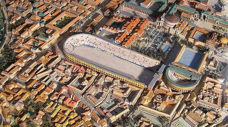 Стадион Домициана, древний стадион, стадион в Риме, древняя арена