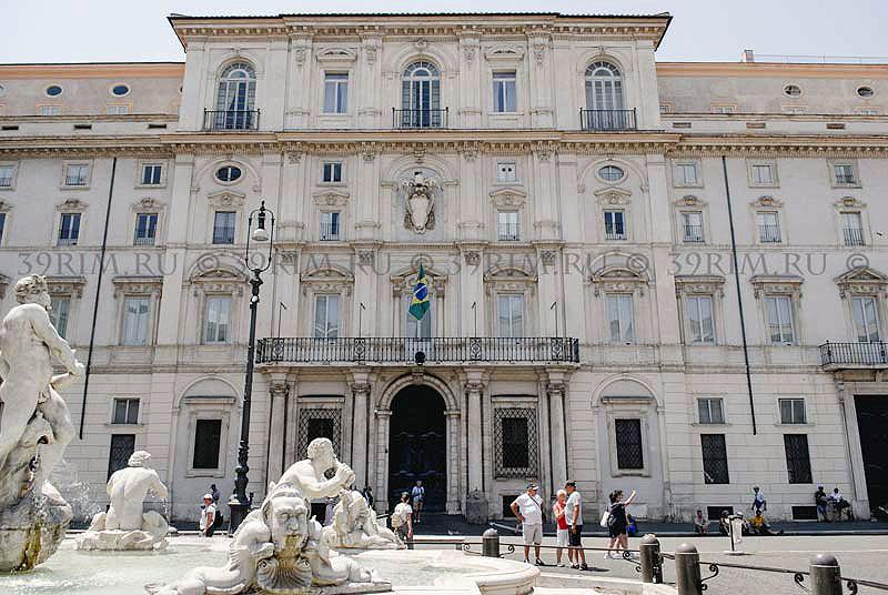 Палаццо Памфили на Пьяцца Навона