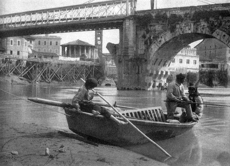 Понте Ротто: первый каменный мост в Риме