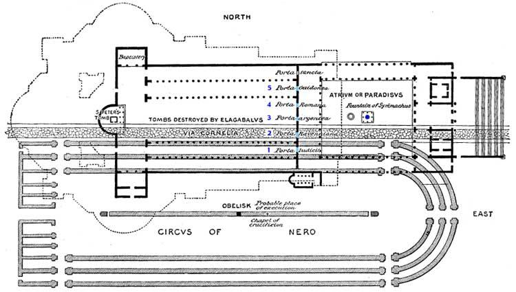 Базилика Константина план