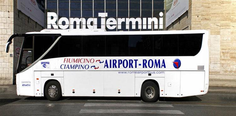 автобус шаттл, шаттл чампино рим, аэропорт чампино