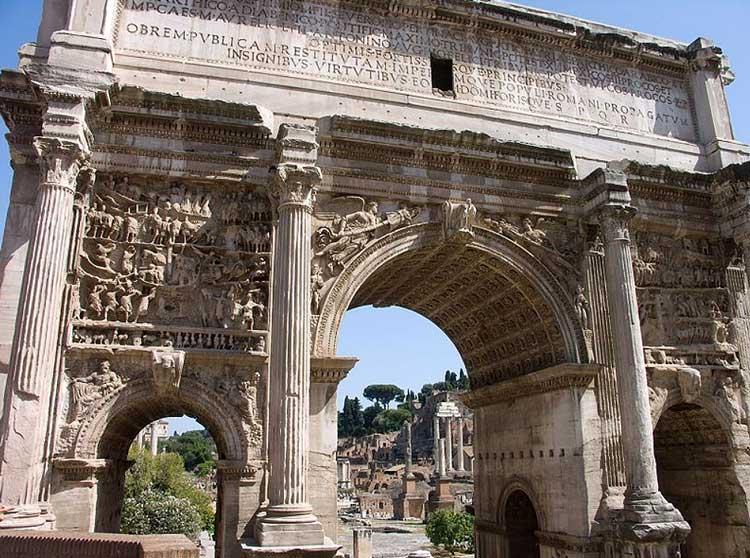 триумфальная арка рим