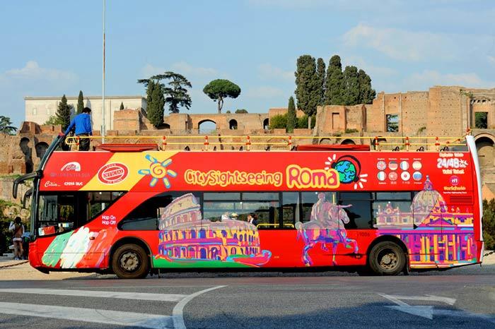 Рим: экскурсионные автобусы. Подробный обзор