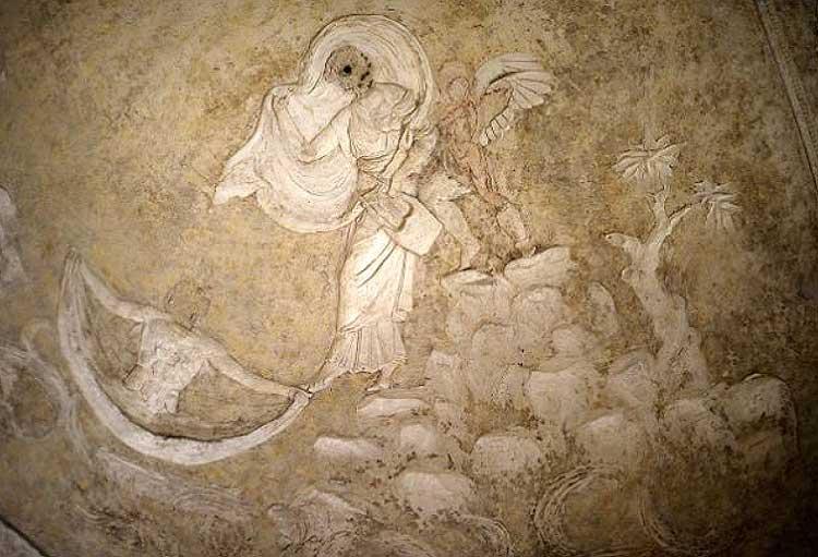 барельеф базилика