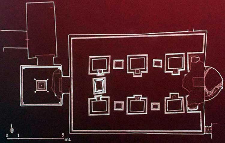 Подземная Базилика схема