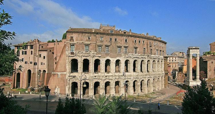 театр марцелла рим, амфитеатр рим