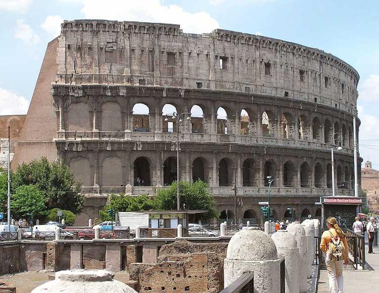 римский амфитеатр, амфитеатр флавиев, колизей