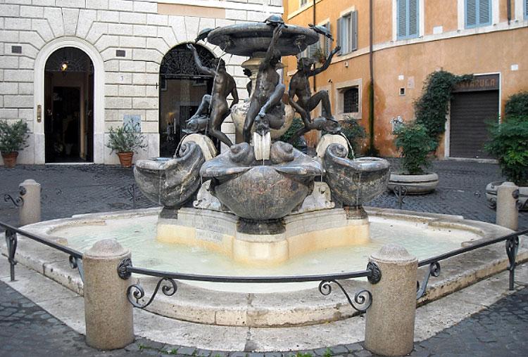 фонтаны рима, фонтан черепах