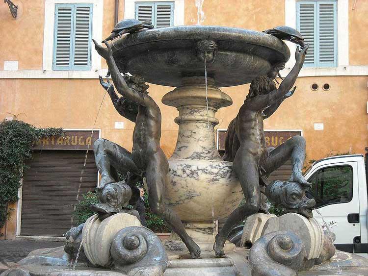 фонтан черепах , фонтаны Рима
