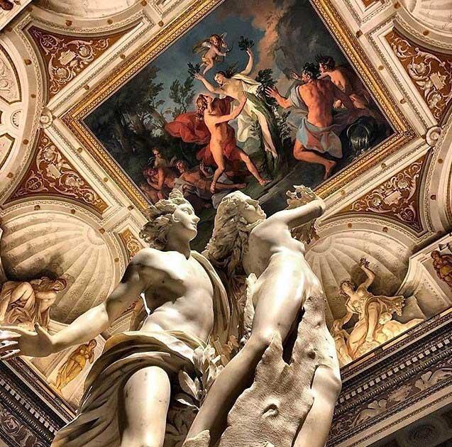 бернини скульптуры, галерея боргезе